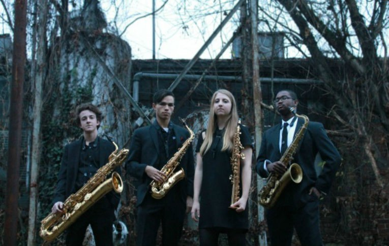 Franklin-High-School-Sax-Quartet